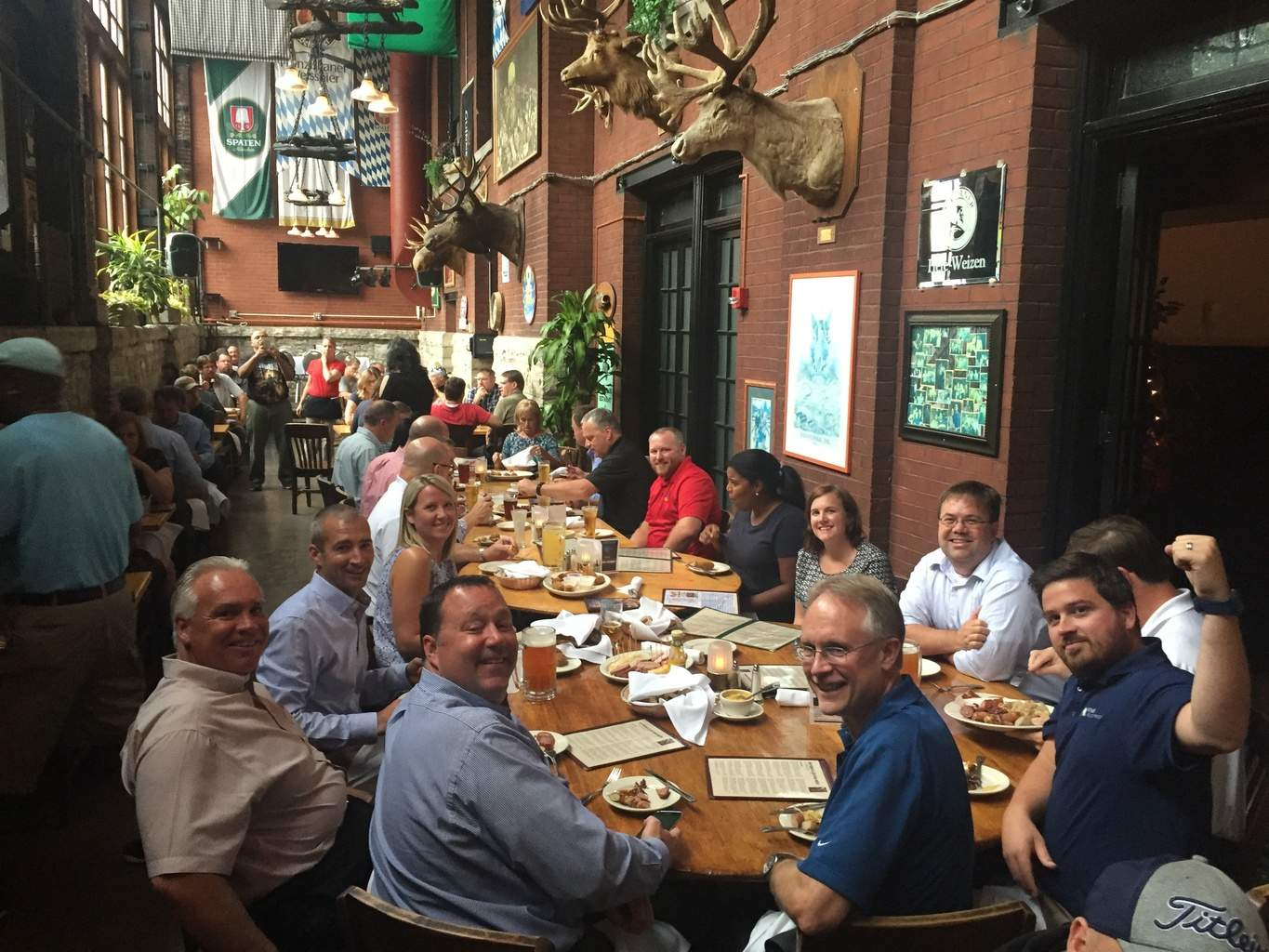 Allied Amp Mitsubishi Gather At The Rathskeller In Indy