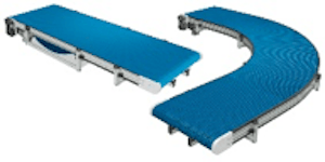 Robotunits modular belt conveyor