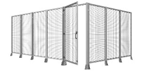 Belt Conveyor System & robounit safety fence