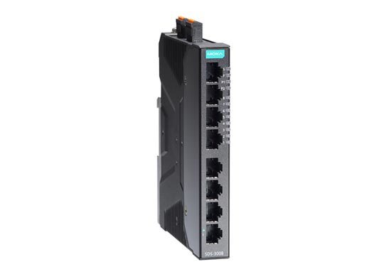 Moxa SDS-3008-Series Industrial 8-port smart Ethernet switches
