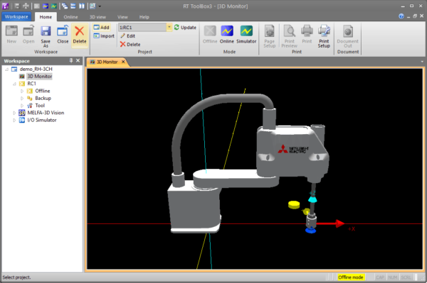 NEW RT-Toolbox3 Robot Software: No Teach Pendant Required