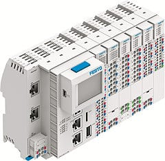 Festo's Modular Control System CPX-E: Compact, Low Cost and Powerful