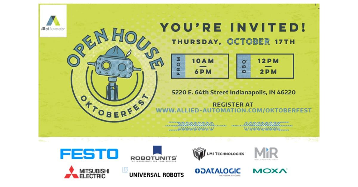 Open House Invite Social